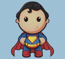 A Super Man - Hands On Hips Kids Clothes