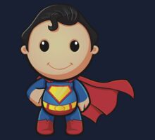 A Super Man - Smiling Baby Tee