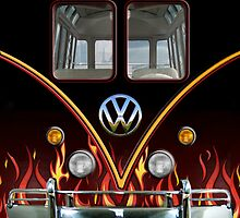 Volkswagen Van Racing Stripes by neutrone