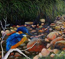 Kingfisher Creek by Sandra  Sengstock-Miller