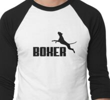 Boxer (black) Men's Baseball ¾ T-Shirt