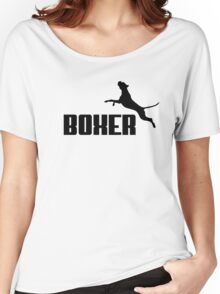 Boxer (black) Women's Relaxed Fit T-Shirt