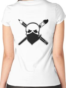 Art Bandit Women's Fitted Scoop T-Shirt