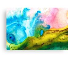 Transformation - Abstract Art By Sharon Cummings Canvas Print