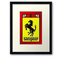 Scuderia Sleipnir Framed Print