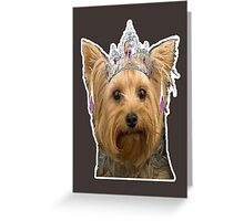 dog need loved Greeting Card