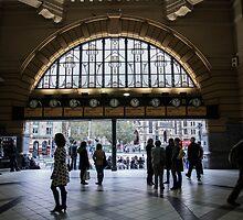 Flinders Street Station by Ivan Kemp