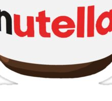 I need my daily dose >Nutella< Sticker