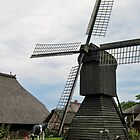 Windmill near Hamburg, Germany by Bine