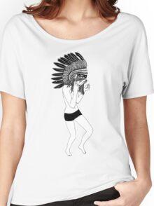 Rain Dance Women's Relaxed Fit T-Shirt