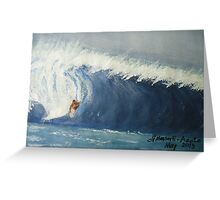 Surfing 01 Greeting Card