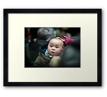 Loveable Lightness of Being Framed Print