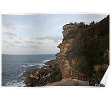 Manly Shelly Beach in NSW Poster