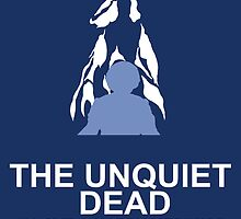 Minimalist 'The Unquiet Dead' Poster by Abboz