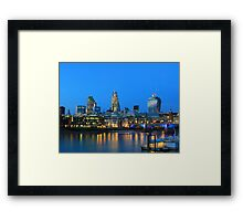 The Cheesegrater and The Walkie Talkie Framed Print