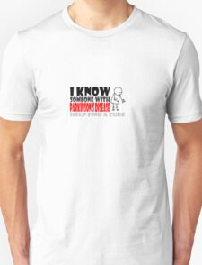 I know someone with Parkinson's Disease, PD awareness, Find a cure T-Shirt