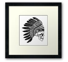 Crying Chieftain Framed Print