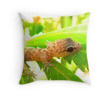 Anfibian  Throw Pillow