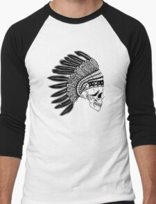 Crying Chieftain Men's Baseball ¾ T-Shirt