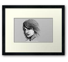 Tricia Helfer, Caprica 6, Battlestar Galatica '04 Framed Print