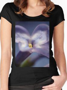 Lilacs 1 Women's Fitted Scoop T-Shirt