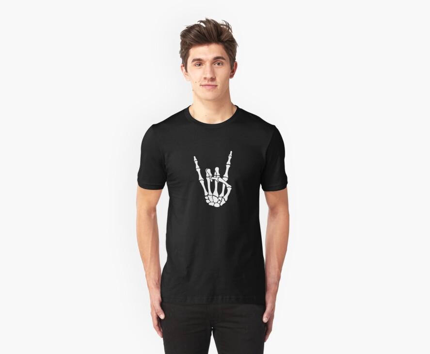 Skull Rock Hand - Pommesgabel by Cheesybee