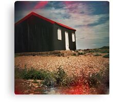 #red hut Canvas Print