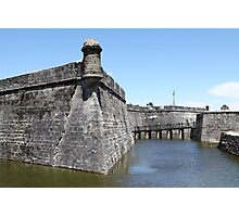 Water in the Moat Photographic Print