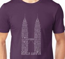 'Wordy Structures' Patronus Towers Unisex T-Shirt