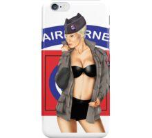 82nd Airborne Pinup iPhone Case/Skin
