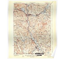 USGS TOPO Map New Hampshire NH Penacook 330292 1927 62500 Poster