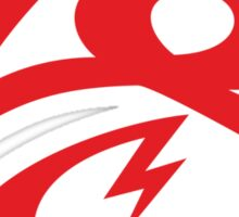 KrakkdSkullz - KS Logo - Red Sticker