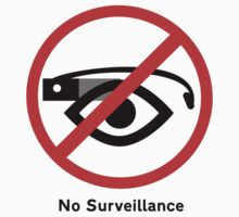 No surveillance sign by stopthecyborgs