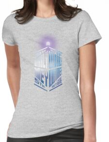 Wibbly Wobbly Timey Wimey Womens Fitted T-Shirt
