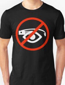 Ban sign (white) T-Shirt