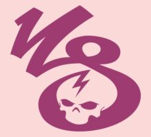 KrakkdSkullz - KS Logo - Purple Kids Clothes