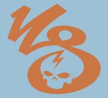KrakkdSkullz - KS Logo - Orange Kids Clothes