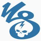 KrakkdSkullz - KS Logo - Sky by krakkdskullz