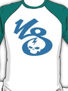 KrakkdSkullz - KS Logo - Sky T-Shirt