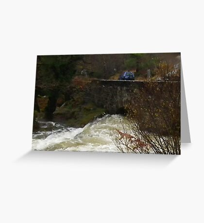 Bridge over Troubled Water Greeting Card
