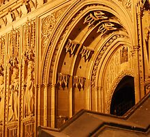 canterbury cathedral by Kent Burton