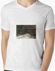 Bridge over Troubled Water Mens V-Neck T-Shirt