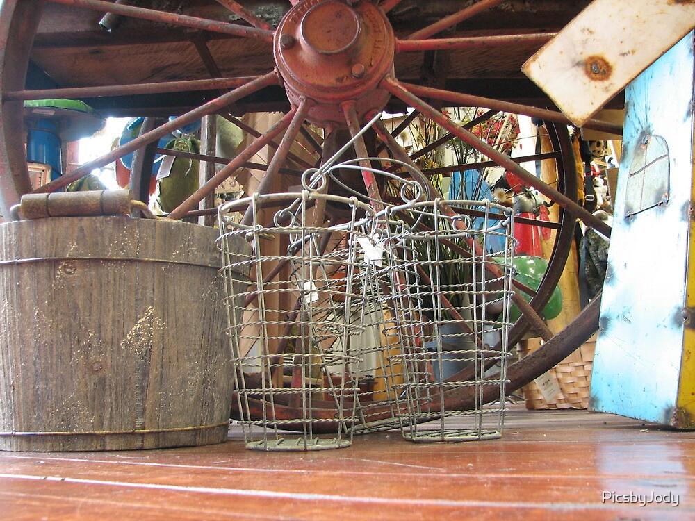 Wire Baskets by PicsbyJody