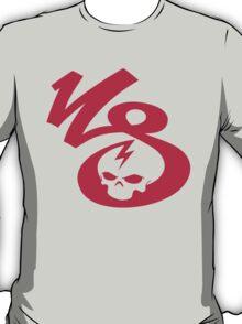KrakkdSkullz - KS Logo - Neon Red T-Shirt