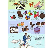 The Infamous Candy Chart Photographic Print
