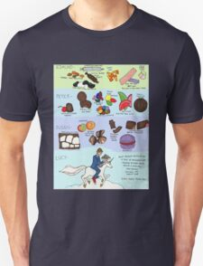 The Infamous Candy Chart Unisex T-Shirt