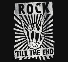 Rock 'till the end by Cheesybee