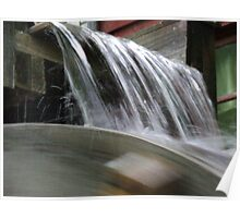 Water on the Waterwheel Poster
