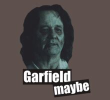 Garfield Maybe - Bill Murray Zombieland by lindseyyo