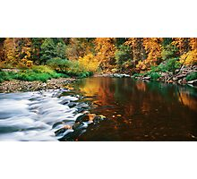 Autumn on the Merced River Photographic Print
